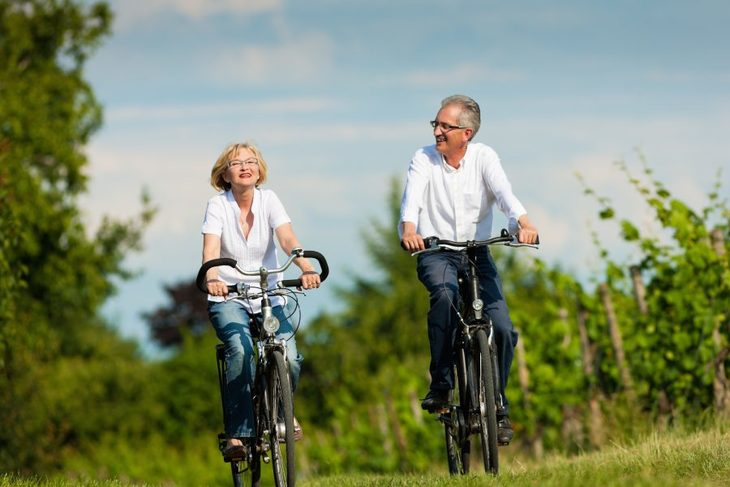 Par som sykler