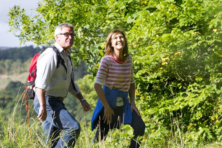 Par som går tur